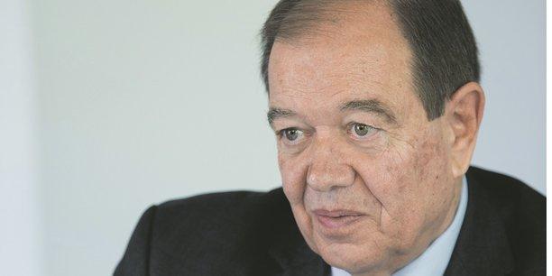 Patrick Ollier, président de la métropole du Grand Paris.
