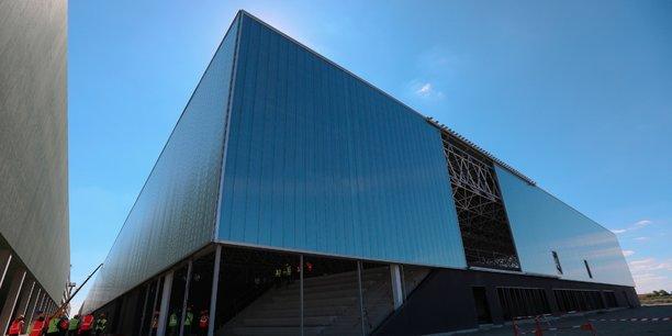 Le Meett est le nom du futur parc des expositions en construction dans l'agglomération toulousaine.