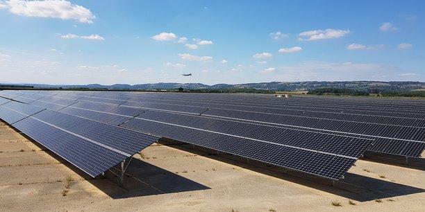 Parc solaire du Parc d'Activité de Grenoble Air Parc (PAGAP).