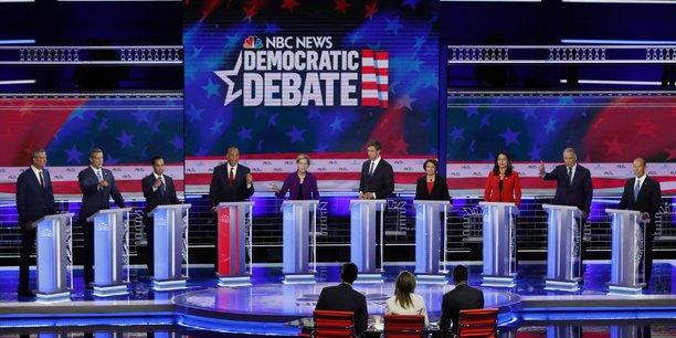 Usa 2020: les candidats democrates divises sur l'assurance sante[reuters.com]