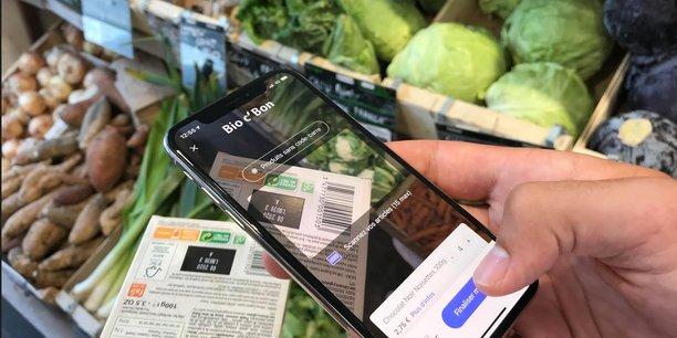 L'appli de shopping mobile Neos est utilisable dans plusieurs points de vente des enseignes Carrefour, Bio c' Bon, Sephora, La Grande Epicerie.