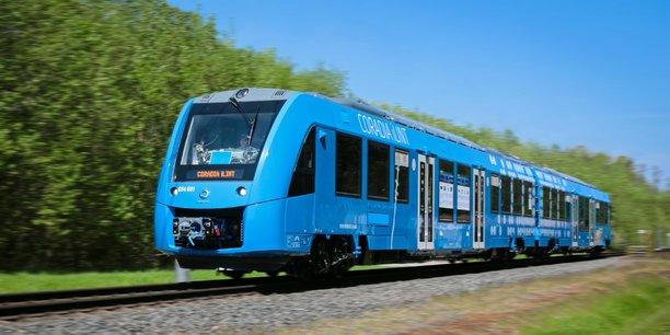 Coradia iLint, le projet de train à hydrogène testé à Tarbes par Alstom, fait parti des projets soutenus par la Région