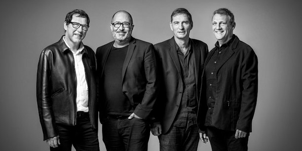 Laurent Portejoie, Paul Marion, Frédéric Neau, Jean-Christophe Masnada, architectes associés au sein de l'Atelier d'architecture King Kong