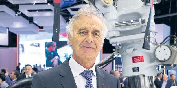 Philippe Petitcolin, directeur général de Safran