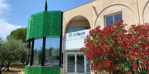 Le nouveau site industriel de SDTech Nano, à Alès, a été inauguré le 4 juillet 2019.