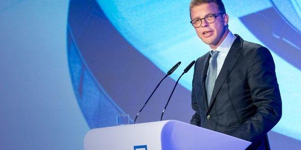 Le directeur général de Deutsche Bank Christian Sewing à la Conférence dbAccess le 5 juin dernier à Berlin.