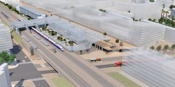 Le 15e Congrès de Régions de France à Bordeaux a mis l'accent sur un besoin important en matière d'intermodalité. Ici, la gare de Nice.