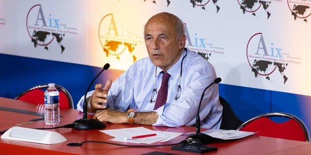 Jean-Hervé Lorenzi,Président du Cercle des économistes.