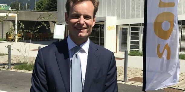Jean-Guillaume Despature, président du directoire de Somfy