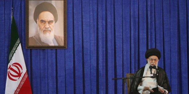 Le guide suprême du régime, l'Ayatollah Ali Khamenei.