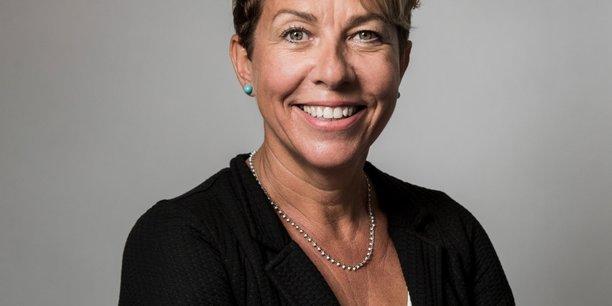 Marie-Anne Péchinot, DG de Zimmer Biomet Robotics, qui s'implante sur le PIOM de Mauguio