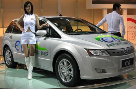 BYD e6  Copyright Reuters