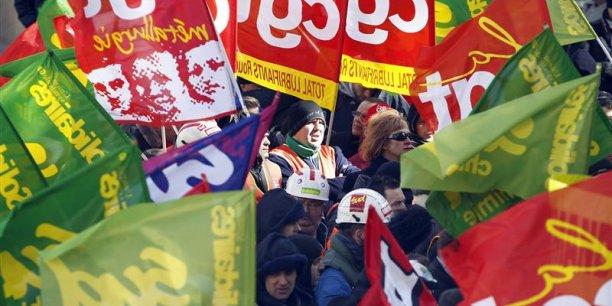 L'ANI est loin de faire l'unanimité: CGT et FO s'y sont opposés, le 11janvier dernier. / Reuters