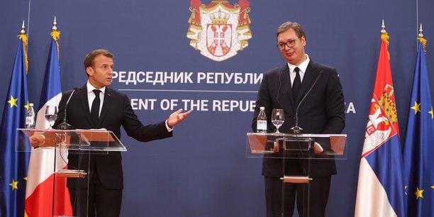 Kosovo: macron annonce une reunion dans les prochaines semaines[reuters.com]