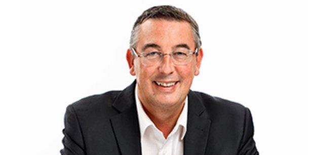Jean-Luc Beylat, le président de l'Association française des pôles de compétitivité et du pôle francilien Systematic.