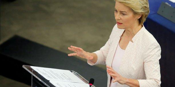 Ue: von der leyen donne des gages a la gauche pour gagner ses voix[reuters.com]