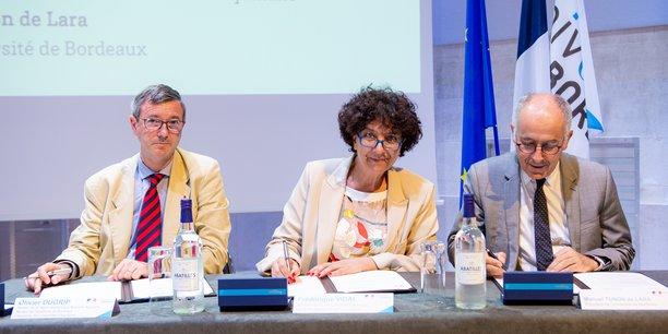 L'Université de Bordeaux récupère les clefs de son patrimoine foncier et immobilier
