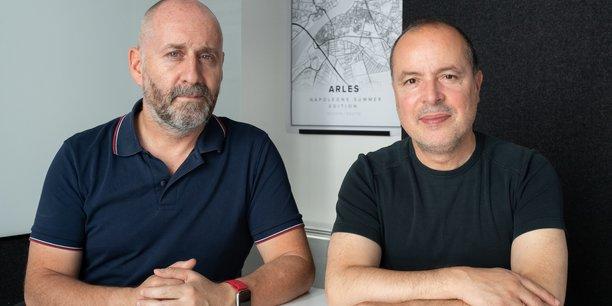 Olivier Moulierac et Mondher Abdennadher, créateurs des Napoleons.