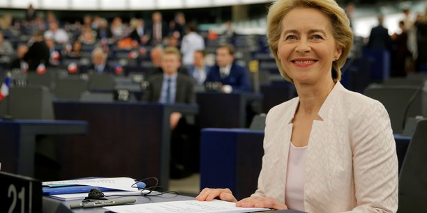 Von der leyen elue de peu presidente de la commission europeenne[reuters.com]