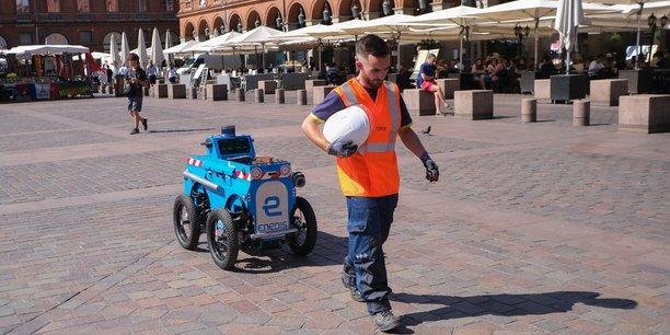 À Toulouse, les opérateurs d'Enedis travaillent avec un robot intelligent