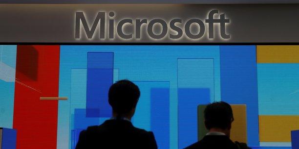 Microsoft et at&t s'allient dans le cloud pour plus de 2 milliards de dollars[reuters.com]