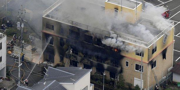 Japon: incendie dans un studio d'animation[reuters.com]