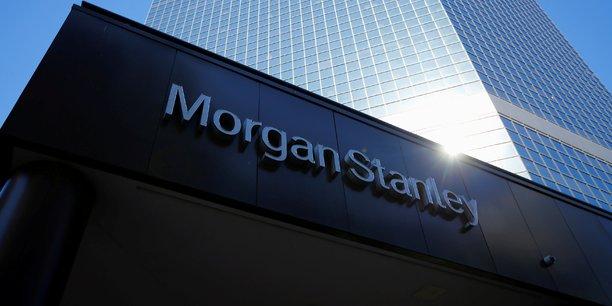 Morgan stanley: benefice en baisse de 10% au 2e trimestre[reuters.com]