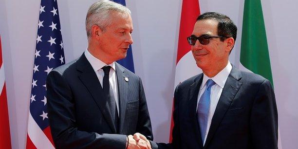 Nous avons commencé le G7 dans la tension et nous finissons avec un accord a répété Bruno Le Maire lors de la conférence de presse.