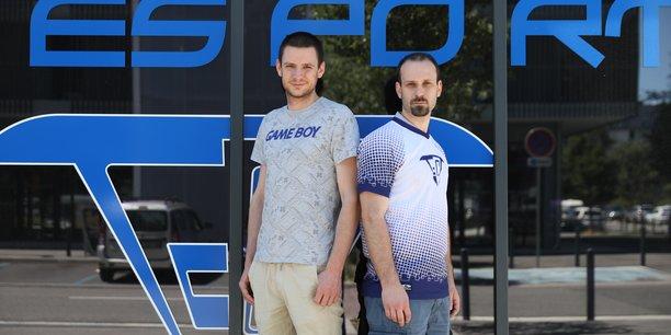 Sébastien Chazalon et Renaud Viry ont créé Toulouse Esport Concept, le premier centre esport d'Occitanie.