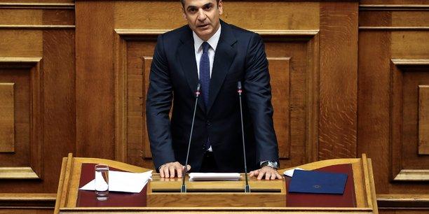 Grece: mitsotakis promet de respecter les objectifs budgetaires[reuters.com]