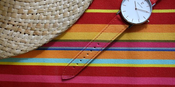 La montre Catalane Plein Soleil de Pierre Lannier.