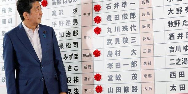 Au japon, abe consolide sa majorite a la chambre haute[reuters.com]