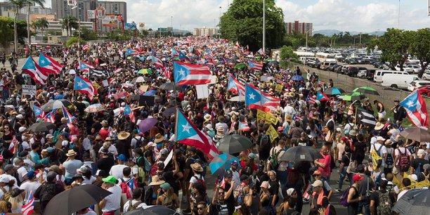 Manifestations a porto rico pour reclamer le depart du gouverneur[reuters.com]