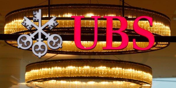 Ubs publie une hausse inattendue du benefice trimestriel[reuters.com]