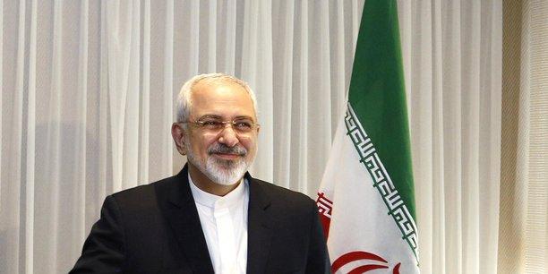 Le ministre iranien des Affaires étrangères Mohammad Javad Zarif