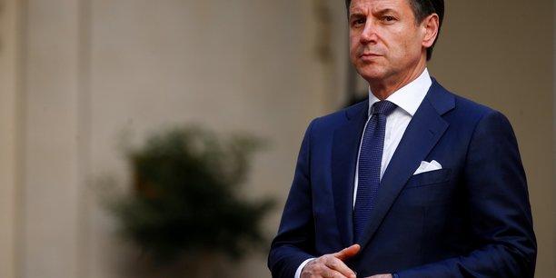 Giuseppe conte soutient le projet tgv lyon-turin, contre le m5s[reuters.com]