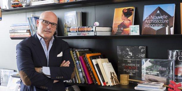 Didier Caudard-Breille profite des vacances pour se vider la tête.
