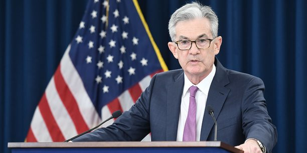 Jerome Powell le président de la Réserve fédérale américaine.