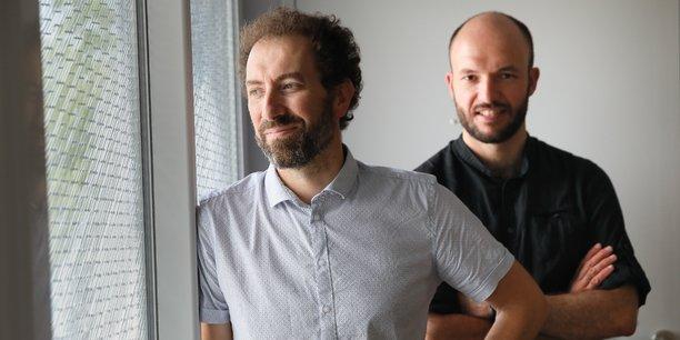 Xavier Sembely et Patrick Callec, les deux fondateurs de Immoblade, sont à la recherche de financements pour développer leurs activités.