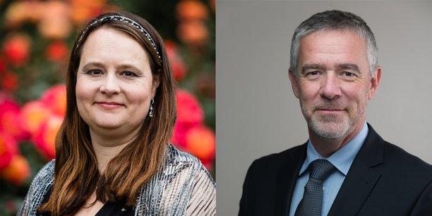 Virginia Joplin, CEO de Verbio Group et Rémi Alquier le dirigeant de la filiale européenne de Verbio Group.