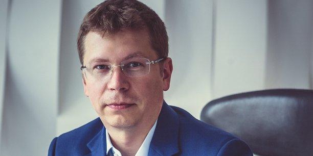 Andrei Zimin, PDG de la société fintech Exscudo