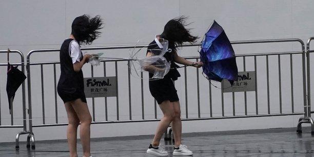 L'est de la chine touche par un typhon[reuters.com]