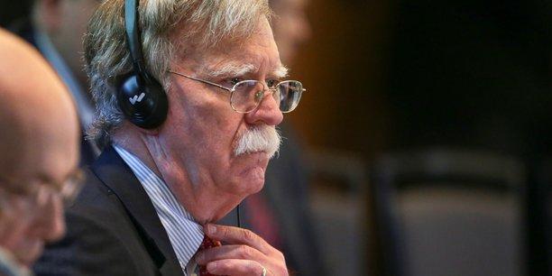 Bolton va demander a londres de durcir le ton face a l'iran et la chine[reuters.com]