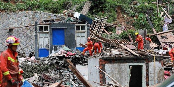 Le bilan du typhon lekima en chine s'alourdit a 44 morts[reuters.com]