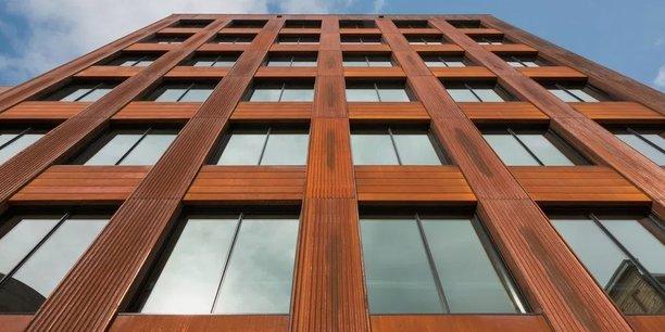 T3, immeuble en bois de 7 étages au coeur de Minneapolis.