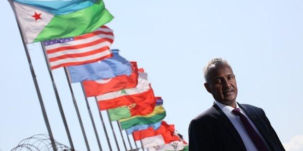 Aboubaker Omar Hadi, président de l'autorité des ports et des zones franches de Djibouti