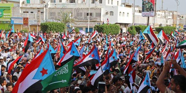 Manifestation de soutien aux separatistes sud-yemenites a aden[reuters.com]