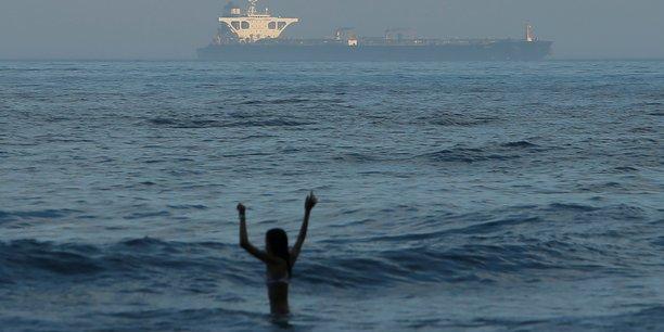 Gibraltar leve l'ordre d'immobilisation du petrolier iranien grace 1[reuters.com]