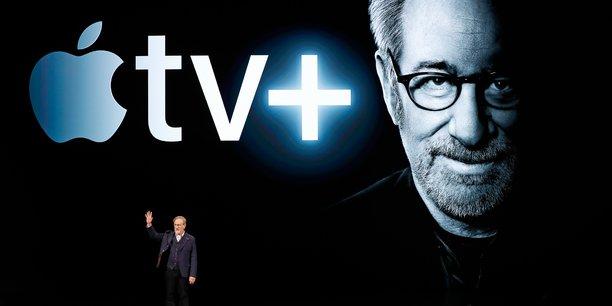 Apple TV+, la plateforme de streaming vidéo du fabricant d'iPhone, a fait appel à des grands noms du cinéma américain comme Steven Spielberg pour la production de ses contenus originaux.