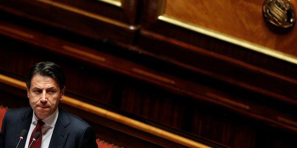 Conte met fin au debat au senat, part remettre sa demission[reuters.com]